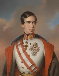 Emperor Franz Joseph I in 1851.