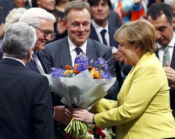 German presidential election at the Reichstag in Berlin